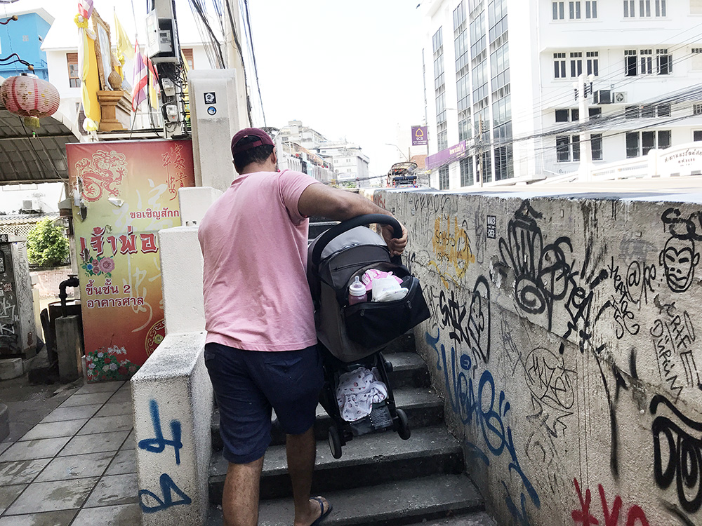 Resa med barn i Thailand