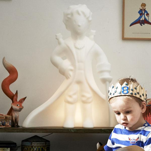 Lille prinsen lampa petit prince, lampa barnrum pojke pojkrum inredning.