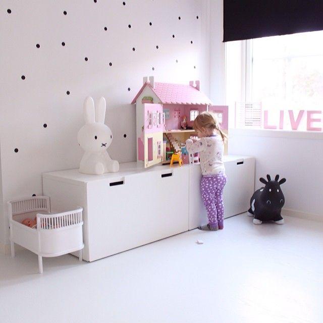 Miffy Lampa Small barnrum inredning