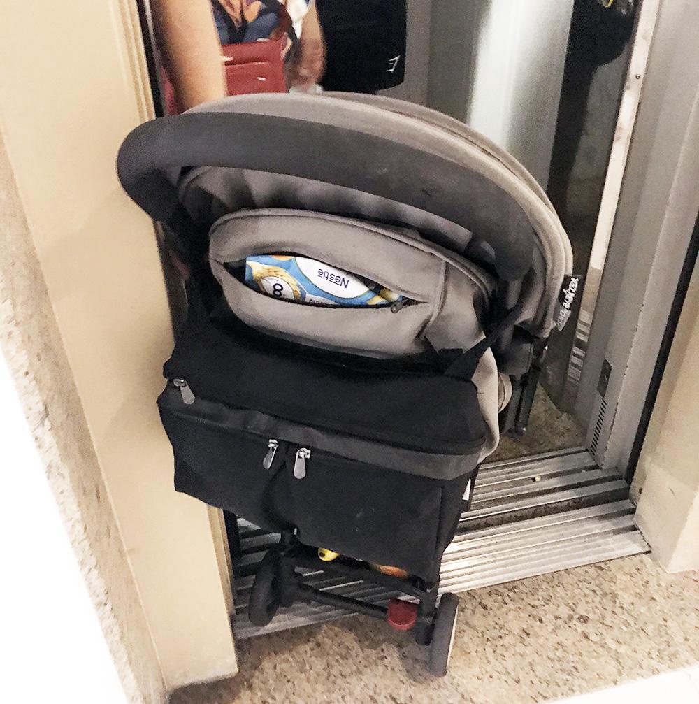 Babyzen yoyo 6+ hiss och trånga utrymmen. Smal resebarnvagn