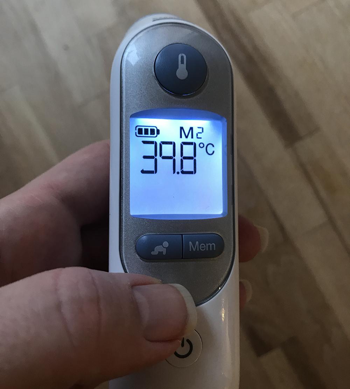 feber amning 39 40 graders feber