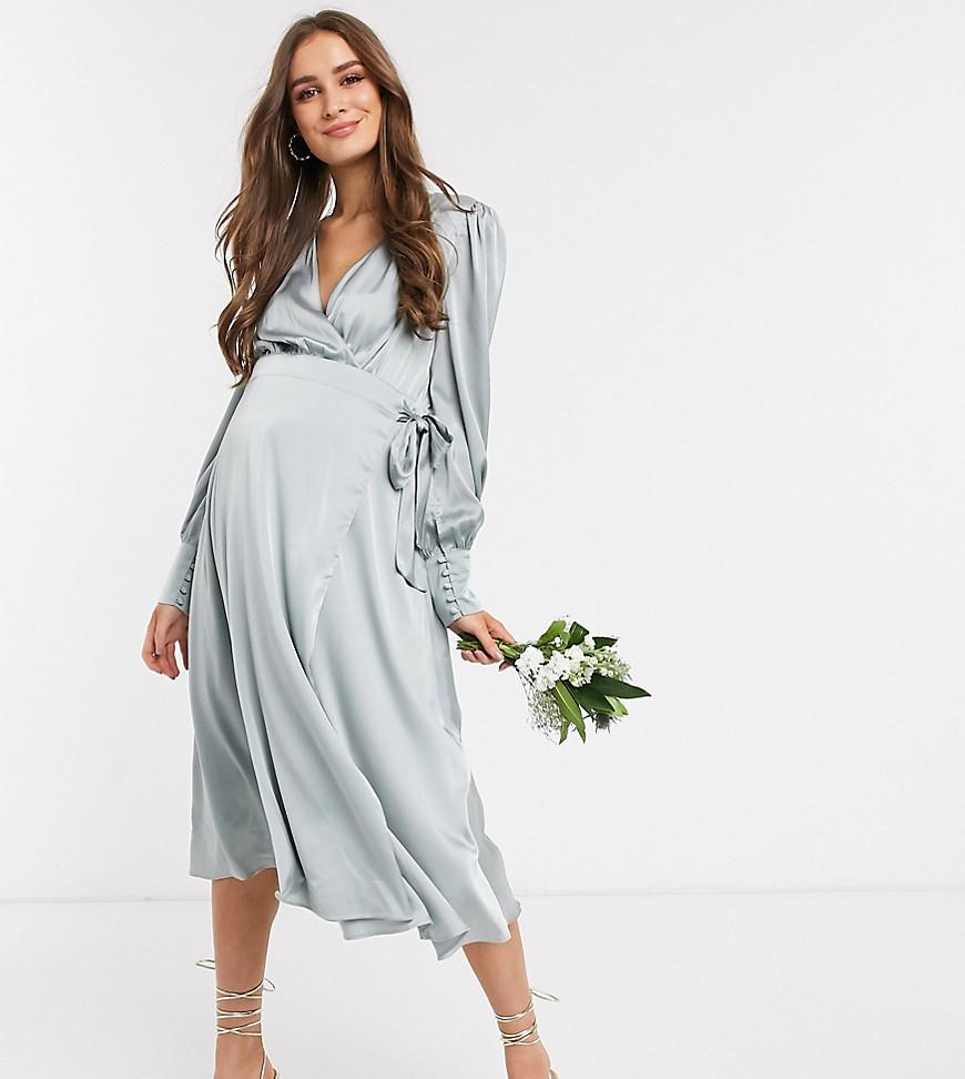Festklänning gravid bröllopsgäst