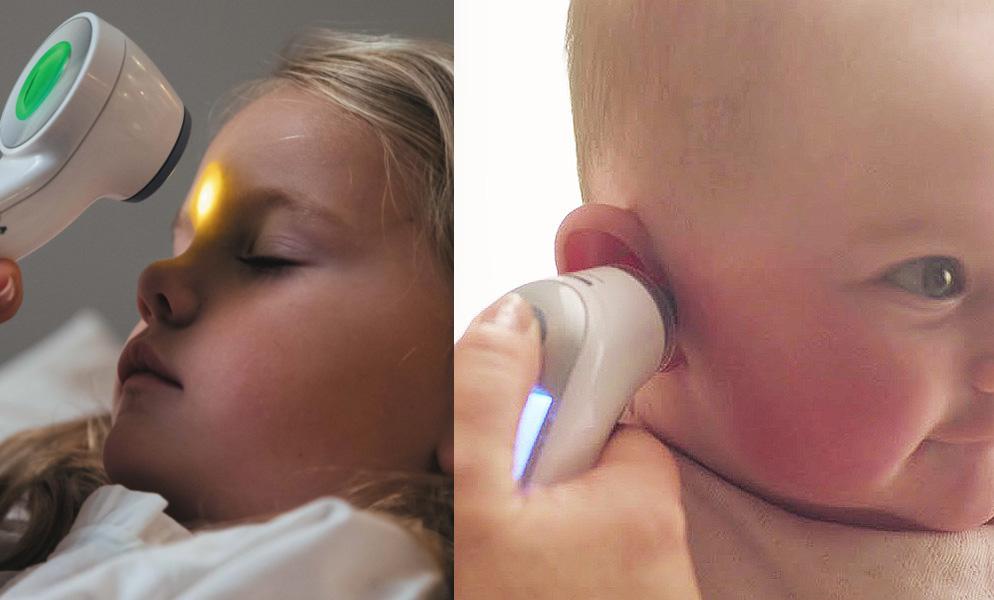 Bästa febertermometer barn örontermometer eller