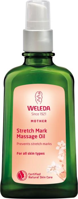 Weleda stretch mark oil hudbristningar förebygga med olja