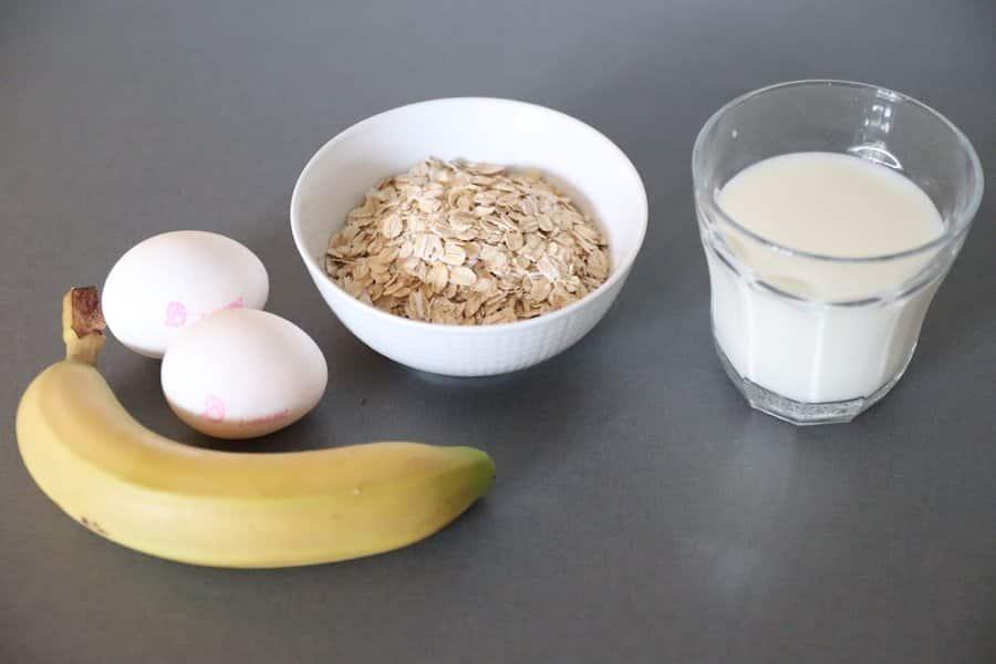 Ingredienser bananpannkakor nyttiga