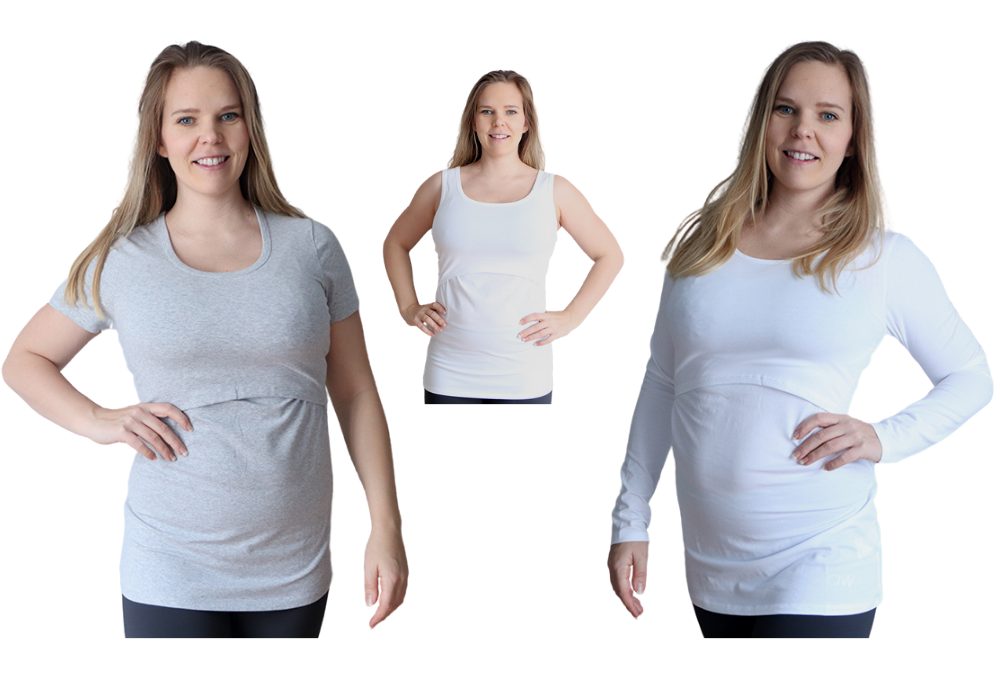 Gravid tshirt gravidlinne gravidtröja