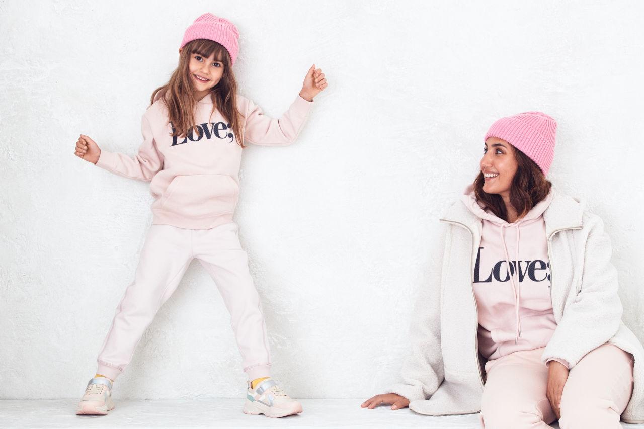 HM mini me kollektion matchande kläder mamma dotter