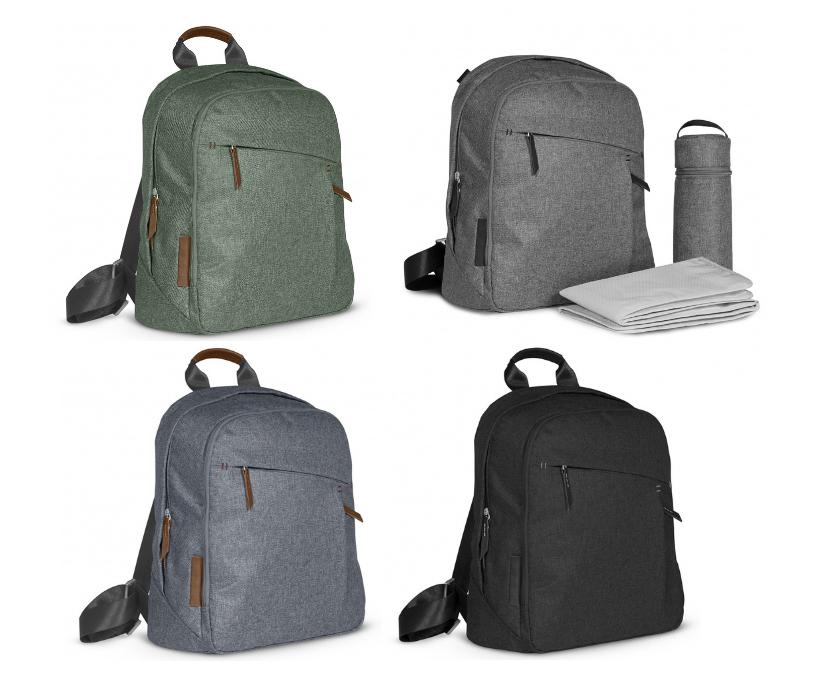 uppababy skötväska ryggsäck med skötunderlägg