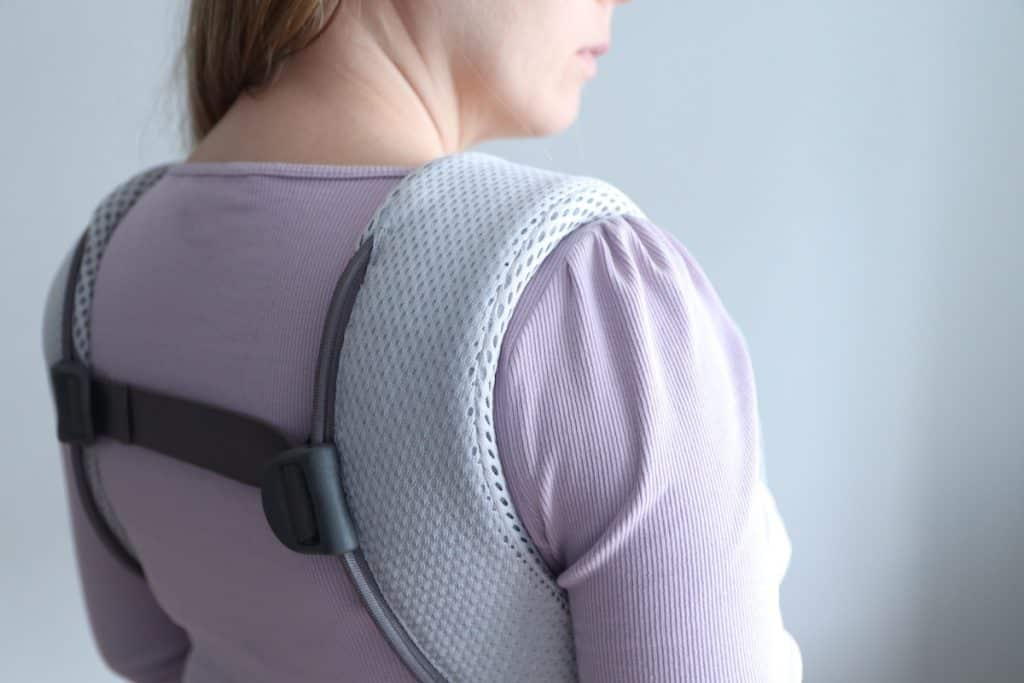 Babybjorn one recension review mesh bärsele