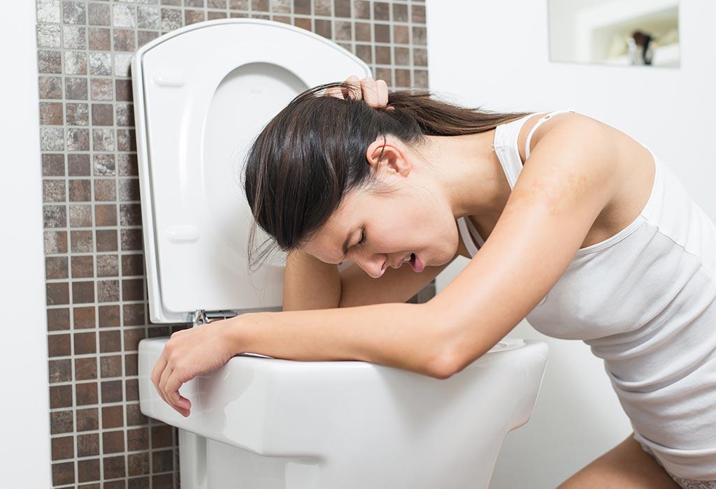extremt illamående gravid morgon illamående