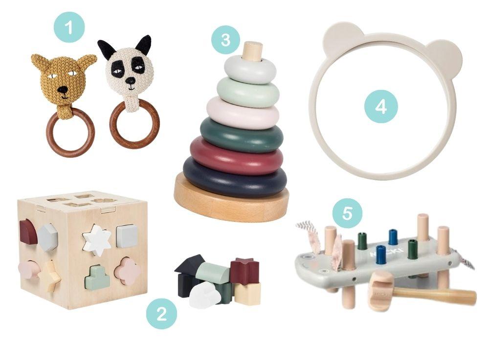 träleksaker baby leksaker av trä barn