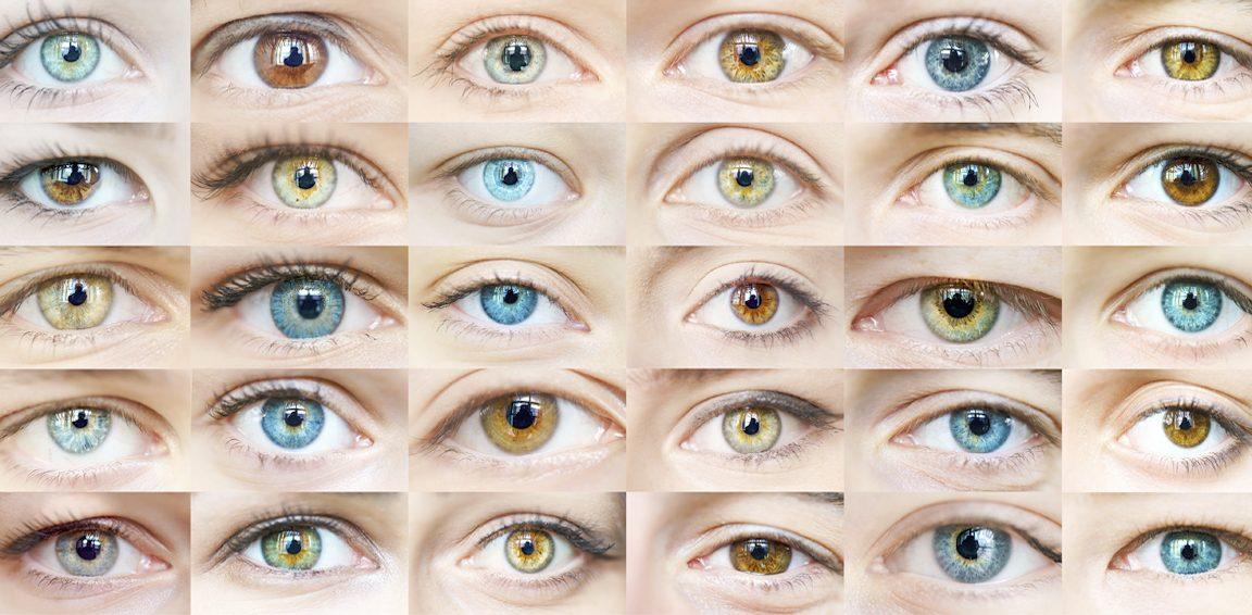 olika ögonfärger