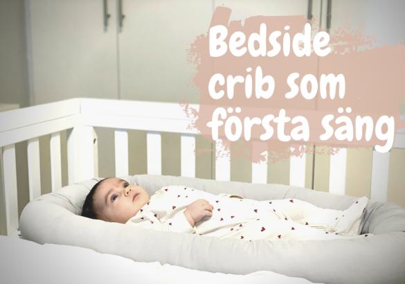 Bedside crib bäst i test