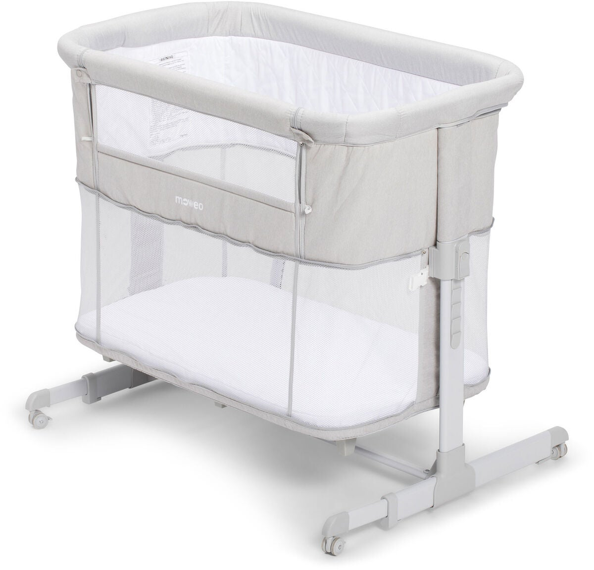 Flexibel Bedside crib Moweo next to me