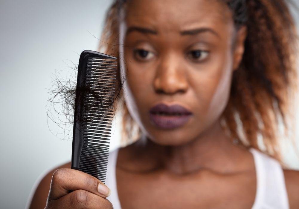 Tappa hår stress