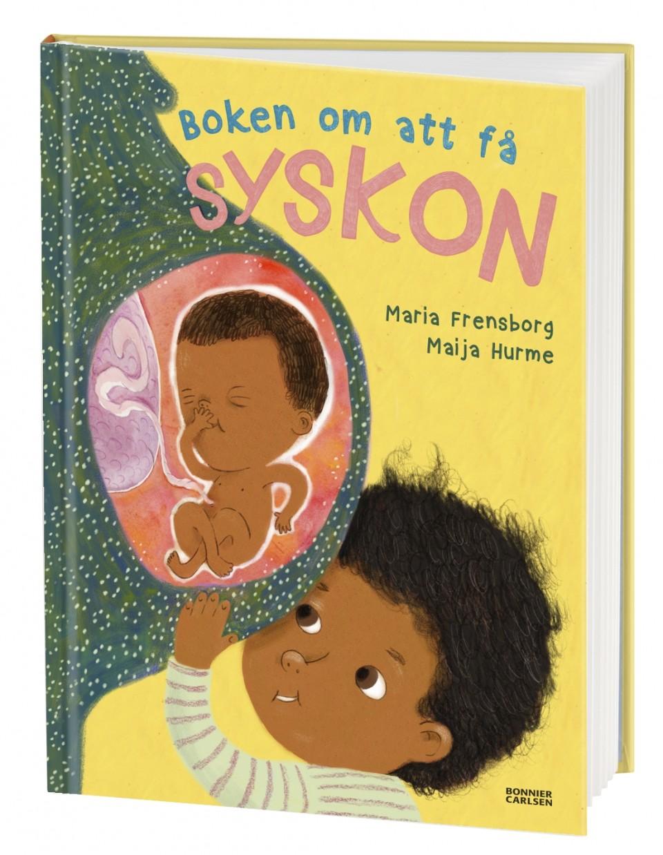 Boken om att få ett syskon av Maria Frensborg