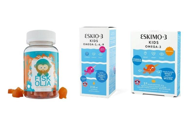 Omega3 barn fiskleverolja