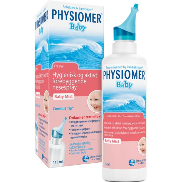 Physiomer Baby Mist nässpray bebis
