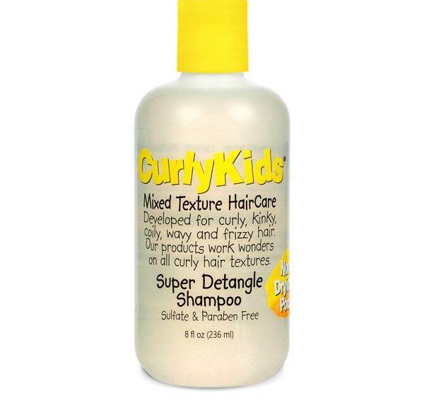 curly kids schampo för lockigt hår barn