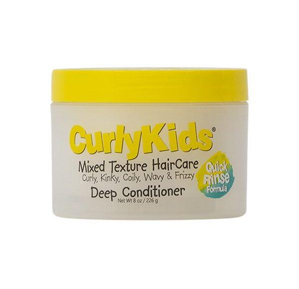 hårinpackning lockigt hår barn