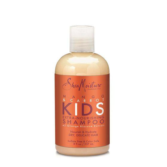 Shea Moisture Mango and Carrot Kids Extra Nourishing Shampoo för lockigt hår