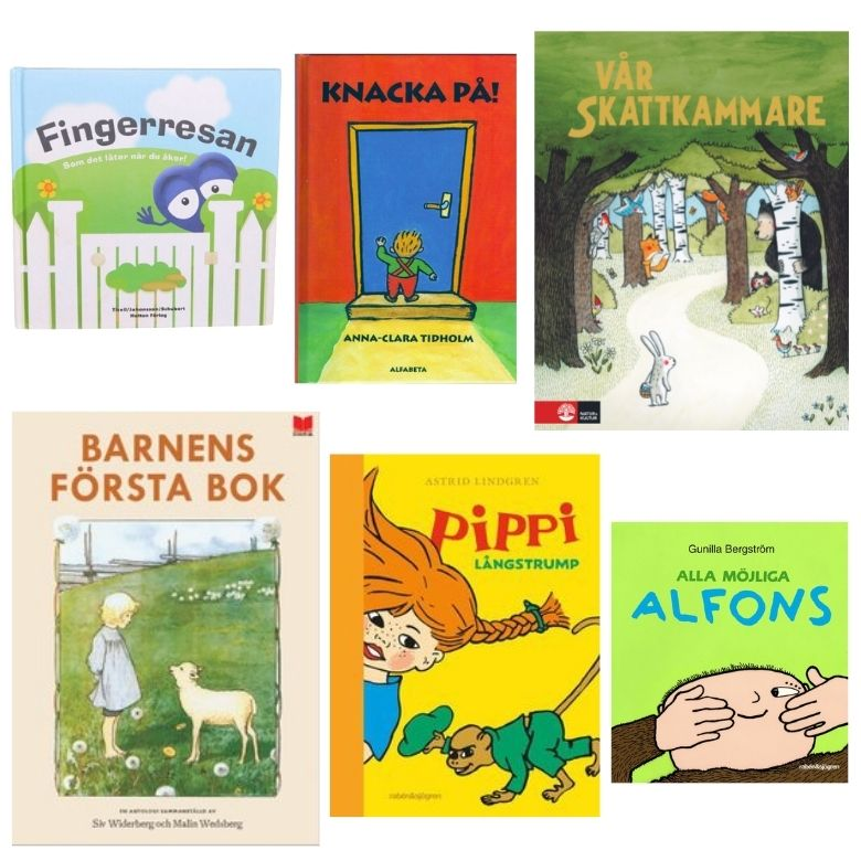 Doppresent bok klassiska barnböcker