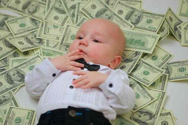 Göra barn rikt med aktier sparkonto