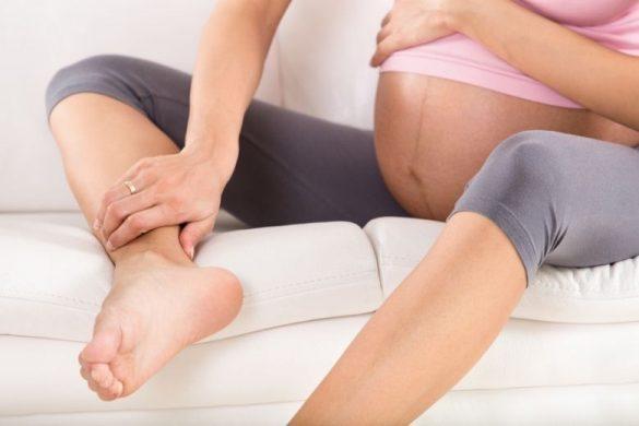 Svullna fötter gravid vad göra