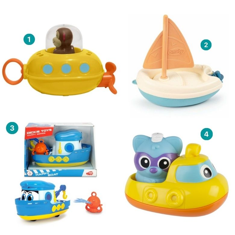 badleksak båt