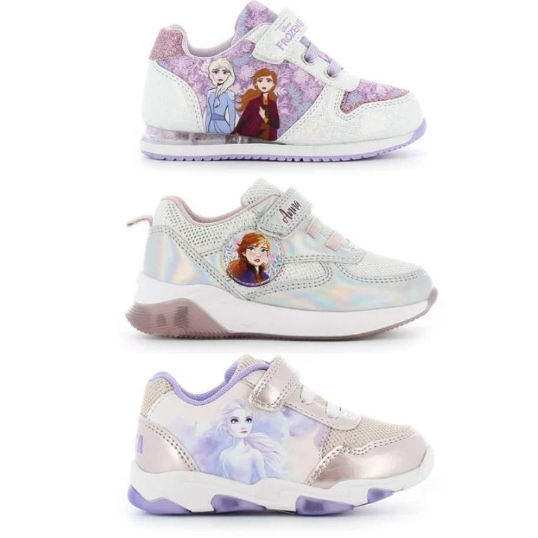 Blinkande skor frost frozen skor med lampor