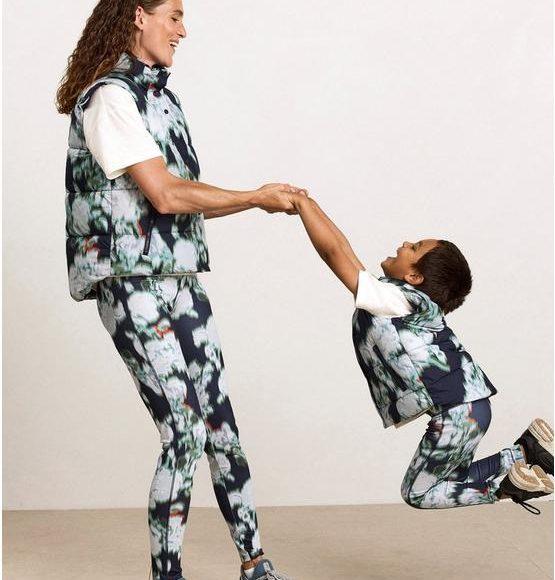 matchande träningskläder mamma barn