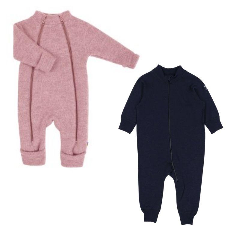 nyfödd ull overall baby