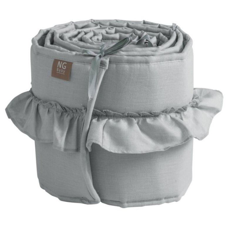spjälskydd linne spjälsäng skydd kanter