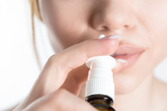 Nässpray gravid farligt