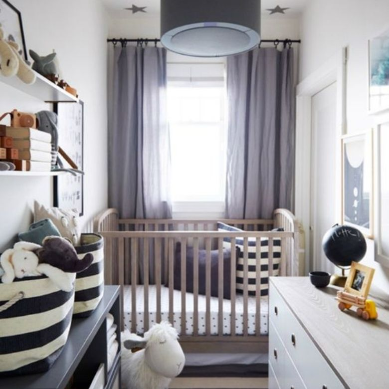 hur man inreder ett litet bebisrum