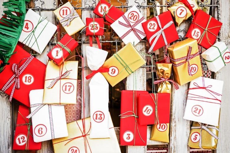 adventskalender barn jul paket