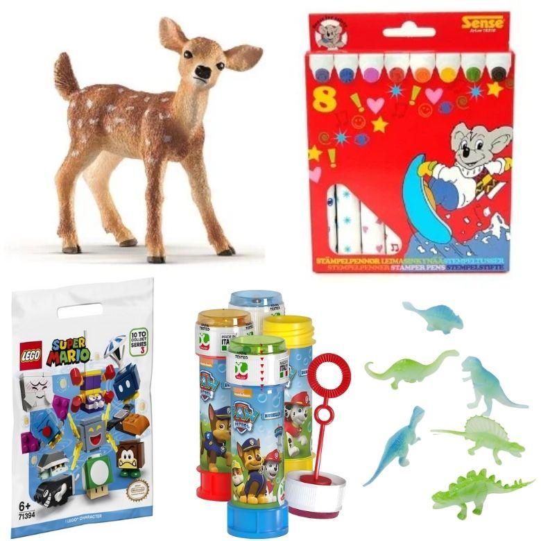 leksaker att ha i adventskalender julkalender