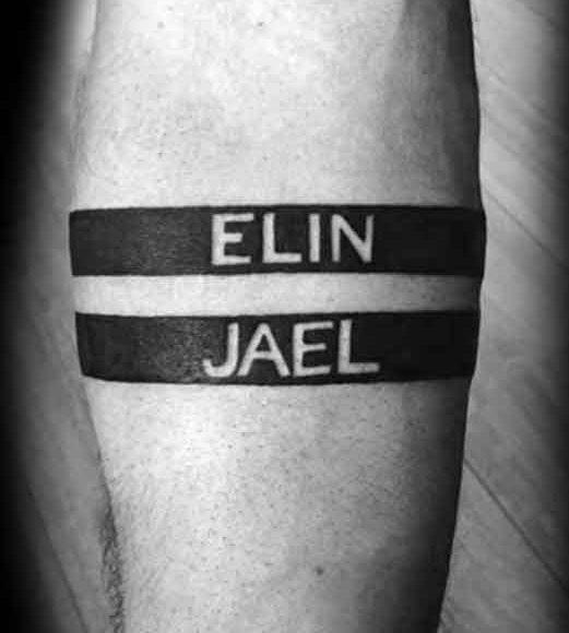 tatuera barnens namn