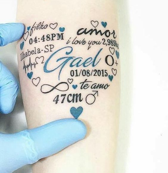 tatuering hedra barn
